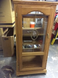 Oak stereo cabinet East Northport, 11731