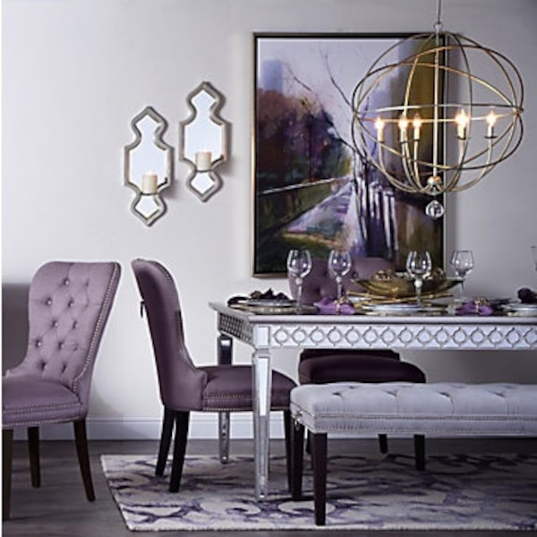 Brand New Sophie Mirrored Dining table