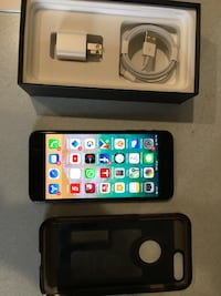 one black iPhone 7's plus with boxes < 1 km