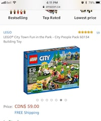 LEGO City Town Fun in the Park - City People Pack 60134 Building Toy Markham