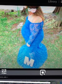 Maternity gown dress used 1time Winter Springs, 32708