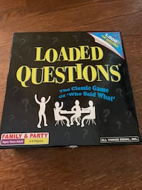 Board game: Loaded Questions  Vienna, 22182