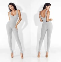 Gray jumpsuit - Size large - New with tags