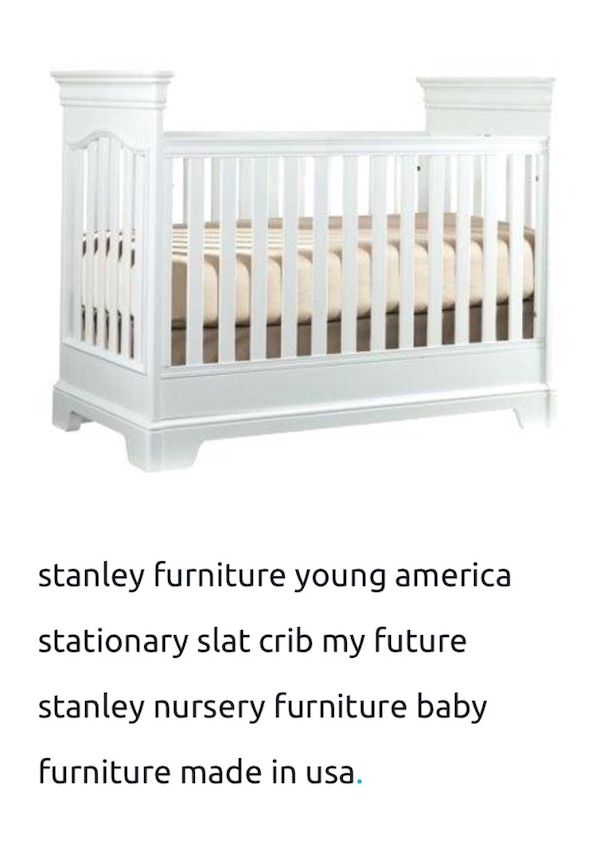 Stanley furniture Young American One to Grow designer baby Crib