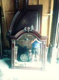 brown wooden framed wall mirror Frederick, 21701