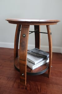 Wine Barrel Table Cape Elizabeth, 04107