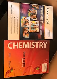 Chemistry 30 key and data booklets  Calgary, T2A 5C4
