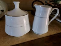 white ceramic pitcher and bowl Alexandria, 22310
