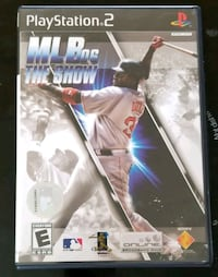 PS2 MLB 06 The show  Chantilly, 20151