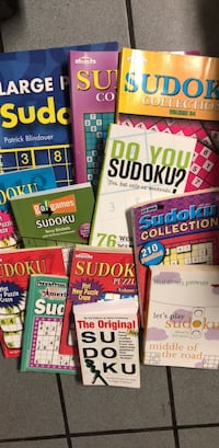 12 Used Sudoku books Waterford, 06385