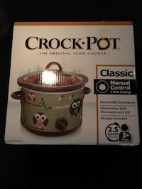 Crock-Pot slow cooker box Downey, 90240
