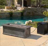 Christopher Knight Home Anchorage Fire Table Fire Pit Hanover, 21076