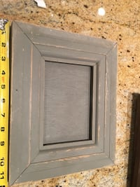 Anthropology rustic grey farmhouse picture frame