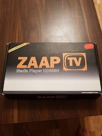 ZAAP TV Media Player Box Malmö, 238 31