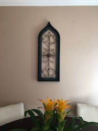 "Wood and metal wall decor 33"" x 11.5"" Tustin, 92780"