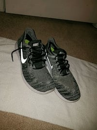 pair of black-and-gray Nike sneakers Manassas