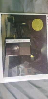 1985 hard cover polar Express book and cassette  Ajax, L1S 2K2