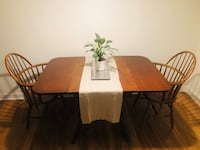 Folding Wooden Dining Table Alexandria, 22304
