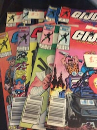 JUST REDUCED comics G.I. Joe A Real American Hero!    Rockville