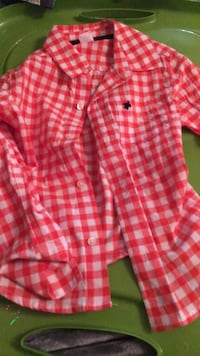 Caters button up long sleeve, boys, size 4 1472 mi