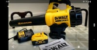 DeWalt 20v brushless blower with 6ah battery and charger Houston, 77062