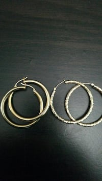 2 pair 14k earings