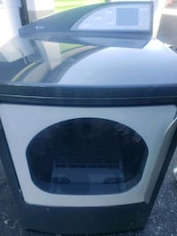 Gray GE Glass Door Electric Dryer- DELIVERY AVAILABLE
