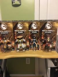 Funko Mortal Kombat X Set 4 out of 5 Figures  Pawtucket, 02860