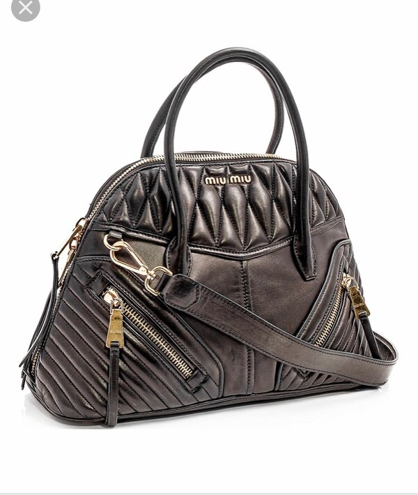 Used Miu Miu Nero Bauletto Handbag for sale in Edison - letgo 99f77718abefe
