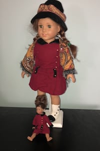 American Girl Doll Rebecca with mini Burke, 22015