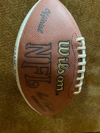Offical ray lewis signed game ball  Baltimore, 21230