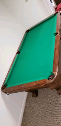 green and brown wooden pool table York, 17402