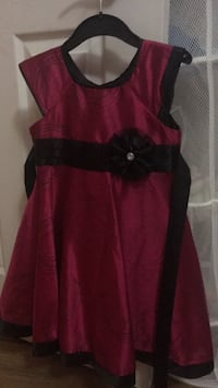 red and black spaghetti strap dress 3723 km