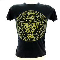 Mens XS Fall Out Boy T Shirt Save Rock And Roll You Are What You Love