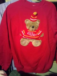 49ers Teddy Bear Sweatshirt Daly City