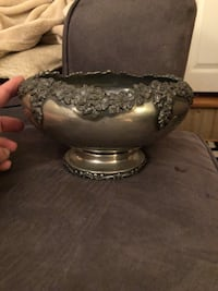 Antique Silver plated bowl Smithsburg, 21783