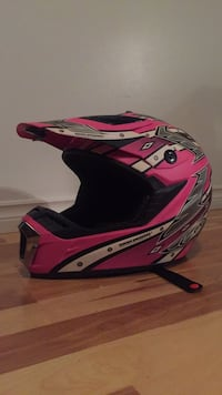 Pink Dirt Bike Helmet - $80 Barrie, L4N 6X5