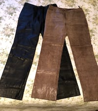 Two Small size Ladies Leather Pants $20 each Markham, L3T 3L4