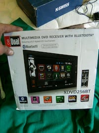CarDual multimedia dvd receiver with bluetooth Edmonton