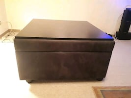 Table top Ottoman with pull out bed.