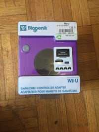 Wii game cube adapter TORONTO