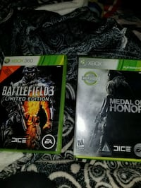 Xbox360 games $10, 3 for $25 or 40 takes all 241 km