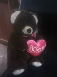 black and red bear plush toy Louisville, 40208