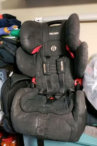 baby's black and gray car seat Houston, 77057