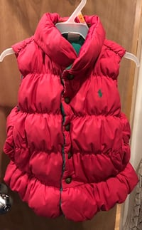 Toddlers Reversible Puffer Vest Rockville, 20853