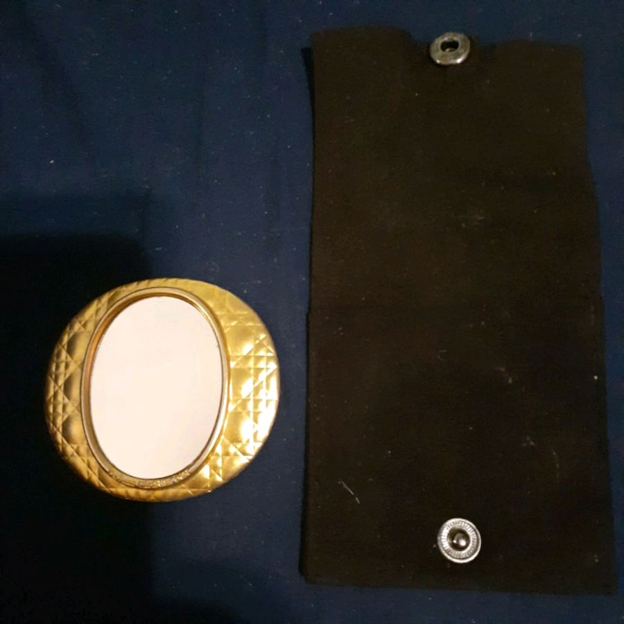 Christian Dior *Vintage*Mirror and case.