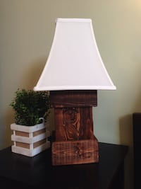 Custom Rustic Lamp
