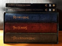 Coffret dvd lord of the ring & hobbit movies Montréal, H1Y 1Z6