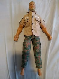 "1992 HASBRO G.I JOE 12"" ROCK & ROLL FIGURE"