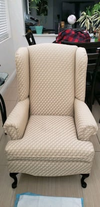Couch and High Back Chair set